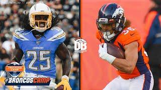 Who will get more carries, Melvin Gordon or Phillip Lindsay? | Countdown to Camp