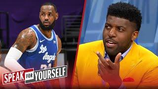 LeBron's Lakers have a higher chance at reaching Finals than Nets — Acho | NBA | SPEAK FOR YOURSELF