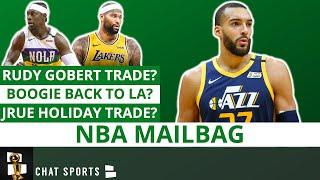 NBA Rumors: Rudy Gobert Trade? DeMarcus Cousins Free Agency + Jrue Holiday For Michael Porter Jr.?