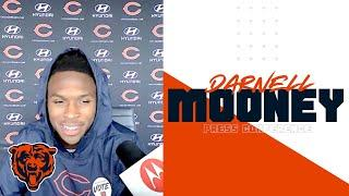 Darnell Mooney on making an impact as a rookie | Chicago Bears