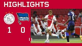 Highlights | Ajax - Hertha BSC | DAVID NERES IS BACK