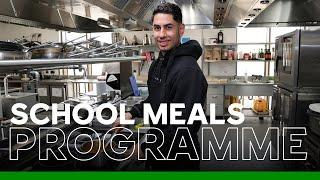 Chef Ayoze Pérez | Leicester City Support Local Children On Free School Meals