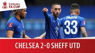 Chelsea vs Sheffield United (2-0)   Tuchel Extends Unbeaten Start To 14   Emirates FA Cup Highlights
