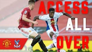 CRYSTAL PALACE SCORE 3 AT OLD TRAFFORD TO BEAT MAN UNITED | Access All Over