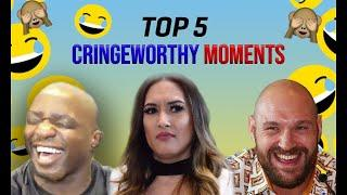 MJP'S TOP 5 CRINGEWORTHY/AWKWARD MOMENTS ft. TYSON FURY, BJ SAUNDERS, DILLIAN WHYTE, FROCH + MORE