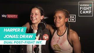 EXCLUSIVE: Terri Harper & Tasha Jonas react to epic FOTY contender that ends in draw