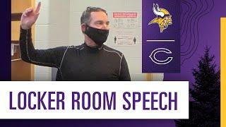 Mike Zimmer's Locker Room Speech After the Win Over the Chicago Bears on Monday Night Football