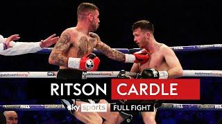 ALL OUT WAR! Lewis Ritson goes toe-to-toe with Scott Cardle
