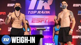 Egidijus Kavaliauskas & Mikael Zewski Make Weight! Main Event Fight Official | OFFICIAL WEIGH-IN