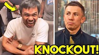 (WOW!) MANNY PACQUIAO SENDS FINAL WARNING TO GGG 160LBS WEIGHT CLASS- GOLOVKIN RESPONDS- WHO WINS?