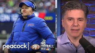 Does Sean McDermott regret kicking FG before halftime? | Pro Football Talk | NBC Sports