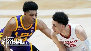 Top-seeded Alabama takes down No. 3 LSU for the SEC title [HIGHLIGHTS]   ESPN College Basketball