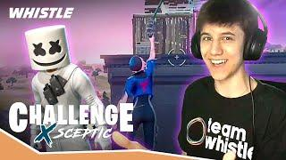Pro Gamer Sceptic Attempts IMPOSSIBLE Fortnite NO RELOAD Challenge!