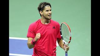 Dominic Thiem | Top 10 points of US Open 2020