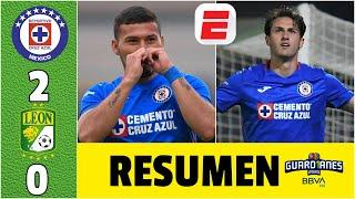 CRUZ AZUL 2-0 LEÓN | GUARD1ANES CRUZ AZUL vence al León y sigue imbatible en LIGA MX | Exclusivos