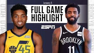 Utah Jazz vs. Brooklyn Nets [FULL GAME HIGHLIGHTS] | NBA on ESPN