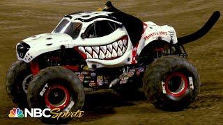 Monster Jam 2020: Anaheim, CA 2   EXTENDED HIGHLIGHTS   Motorsports on NBC