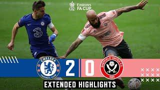 Chelsea 2-0 Sheffield United   Extended FA Cup highlights