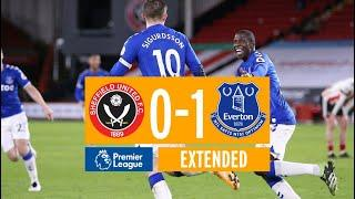 EXTENDED HIGHLIGHTS | SHEFFIELD UNITED 0-1 EVERTON