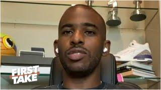 Chris Paul discusses the grand jury's decision on Breonna Taylor's case | First Take