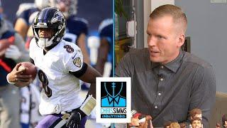 Wild Card Weekend Game Review: Baltimore Ravens vs. Tennessee Titans | Chris Simms Unbuttoned