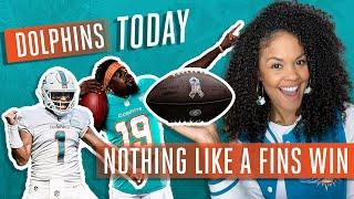 NOTHING LIKE A FINS WIN | Dolphins Today