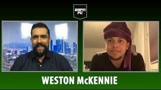 Weston McKennie's TELL ALL: USMNT's Christian Pulisic, Schalke & Jermaine Jones | ESPN FC