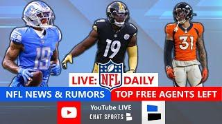 NFL Free Agency LIVE: News, Rumors, Top Free Agents Remaining Ft. Kenny Golladay + Latest Signings