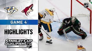 NHL Highlights | Predators @ Coyotes, GM4 - Aug. 7, 2020