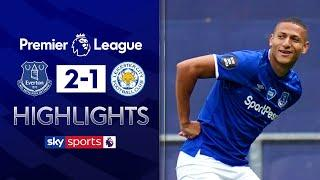 Toffees hold off Foxes fight-back | Everton 2-1 Leicester | Premier League Highlights