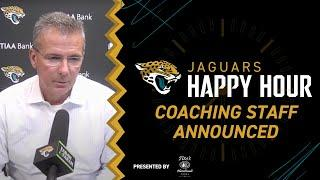 2021 Coaching Staff Announced   Jaguars Happy Hour