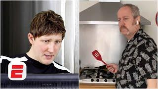 'Could you pause the food there?' Using VAR at home | Exploding Heads