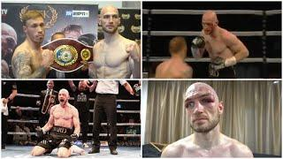 BLOOD & GUTS! REWATCH STEVEN WARD v LIAM CONROY IN A 'MTK FIGHT NIGHT' FIGHT OF THE YEAR CONTENDER