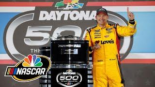 Michael McDowell defies the odds to win NASCAR Cup Series Daytona 500 | Motorsports on NBC