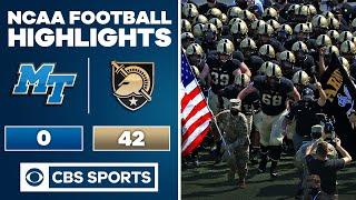 Middle Tennessee vs Army: Highlights | 09-05-2020 | CBS Sports HQ