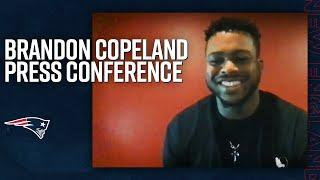Brandon Copeland's First Press Conference as a Patriot