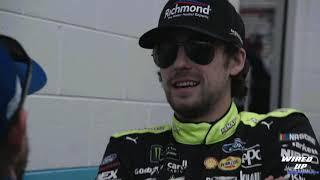 Exclusive access with Ryan Blaney at Martinsville Speedway in NASCAR Playoffs