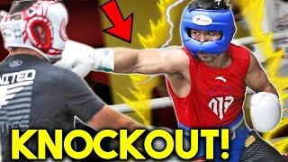 *WOW* MANNY PACQUIAO LEAKED КNОСКOUT IN SPARRING vs ERROL SPENCE JR DOUBLE *ВRUТАL TRAINING IN PRIME
