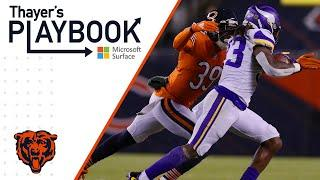 Defense works together to slow down Vikings run game | Thayer's Playbook | Chicago Bears