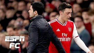Playing for Arsenal ISN'T A CHARITY! Arteta is absolutely right to drop Ozil - Hutchison | ESPN FC