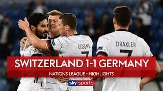 Swiss trouble Germany in Basel stalemate | Switzerland 1-1 Germany | Nations League Highlights