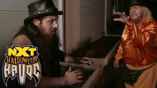 Cameron Grimes' wild ride to the Haunted House of Terror Match: NXT Halloween Havoc, Oct. 28, 2020