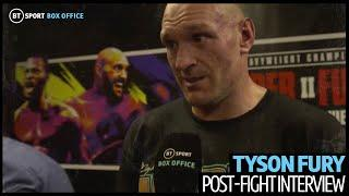 """""""Not bad for pillow fists!"""" Tyson Fury calls himself a destroyer after Wilder win"""