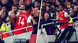The crazy reason why Aubameyang left the pitch in the middle of a game | Oh My Goal