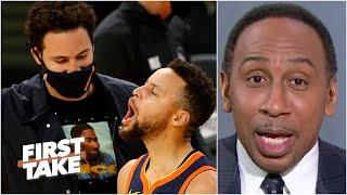 Stephen A.'s bold prediction about Klay Thompson and the Warriors | First Take