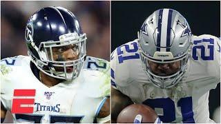Is Derrick Henry a good bet to win the rushing title? What about Ezekiel Elliott? | Daily Wager