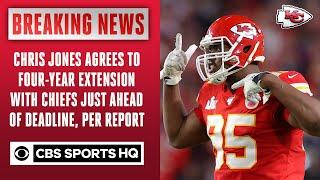 Chris Jones agrees to four-year extension with Chiefs, per report   CBS Sports HQ
