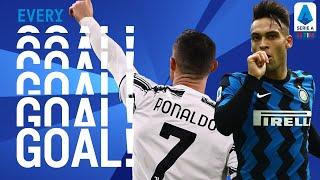 Ronaldo scores a brace while Inter scores SIX past Crotone | EVERY Goal | Round 15 | Serie A TIM