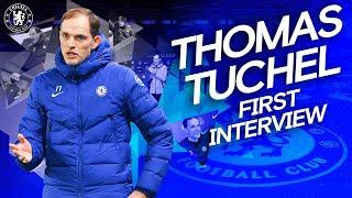 Exclusive: Thomas Tuchel's First Chelsea Interview