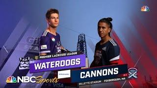 Premier Lacrosse League: Waterdogs vs. Cannons   EXTENDED HIGHLIGHTS   6/6/2021   NBC Sports